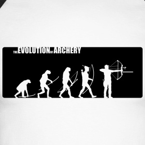 the evolution of archery Compound - Männer Baseballshirt langarm