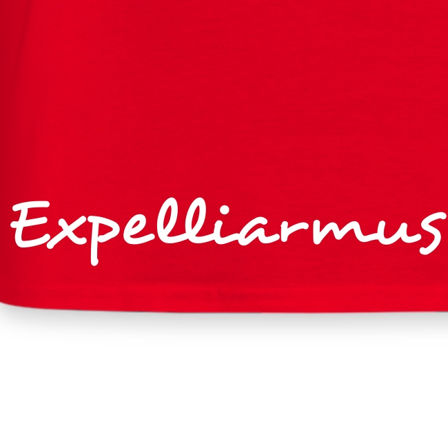 'Expelliarmus Low/Side detail' Mens Comfort Tee RED