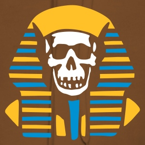 egypt_skull_on_black Hoodies & Sweatshirts - Women's Premium Hoodie