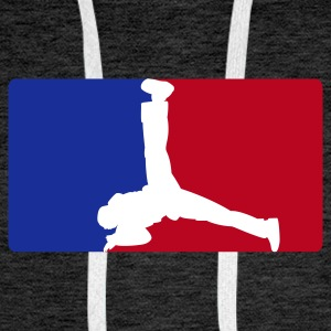 Breakdance League - Men's Premium Hoodie
