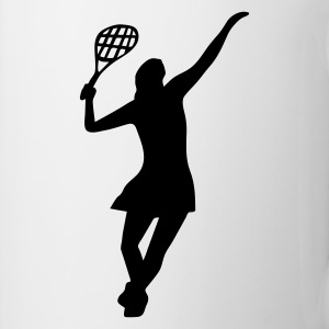 Female Tennis Player - Mug