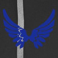 Motiv ~ Kapuzenjacke AGF Blau