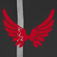 Motiv ~ Kapuzenjacke AGF Rot