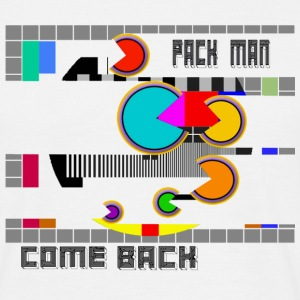 pack man come back - T-shirt Homme
