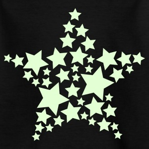 Sterne 'Glow in the Dark' - Teenager T-Shirt