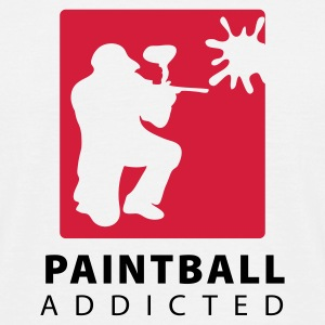 paintball addicted - Männer T-Shirt