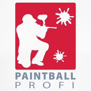 paintball addicted - Männer Baseballshirt langarm