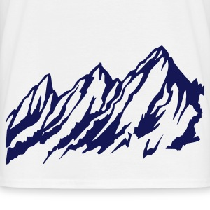 Berge Mountains - Männer T-Shirt