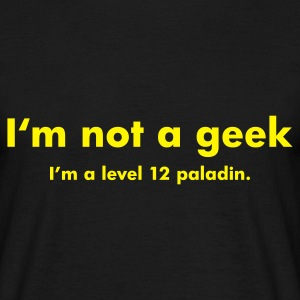 Black Level 12 Paladin Men's Tees - Men's T-Shirt