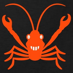 Schwarz Lobster ( 2c) Kinder Shirts - Kids' Organic T-shirt
