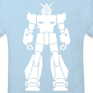 Light blue Gundam_1 Kid's Shirts  - Kids' Organic T-shirt