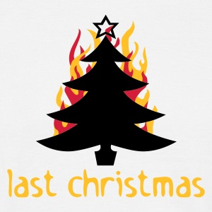 last christmas - T-skjorte for menn