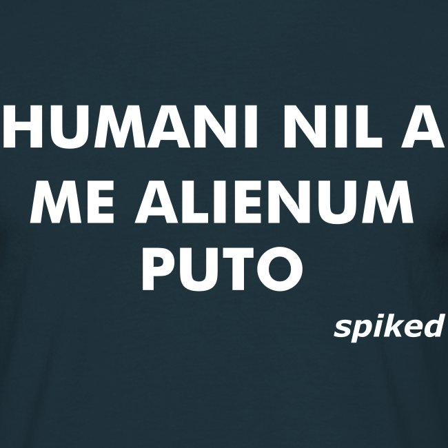 Nothing human is alien to me