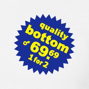 quality bottom .... - T-shirt Homme