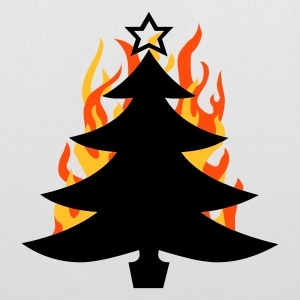 burning Xmas - Stoffbeutel