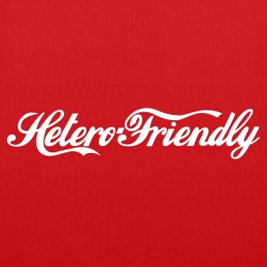 hetero friendly - Stoffveske