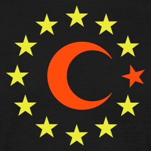 Turkey - Europe - EU :-: - Männer T-Shirt