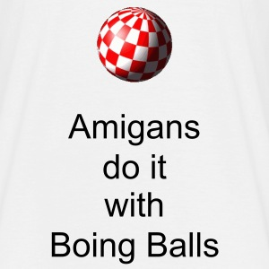 Amiga Boing Ball T-Shirt - Men's T-Shirt