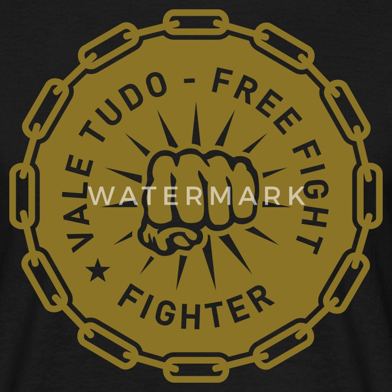 Vale Tudo Free Fight Fighter - Männer T-Shirt
