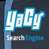 YaCy Logo Hoodie Blue - Men's Premium Hoodie