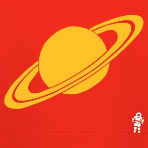 Red Saturn - Planet - Astronaut - Space Kid's Tops - Kids' Premium Hoodie