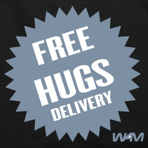 Noir/blanc free hugs delivery by wam Sacs - Sac Retro