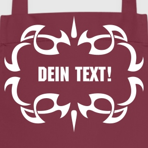Tribal text - Kochschürze