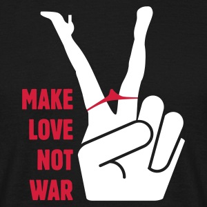 Image result for make love not war images