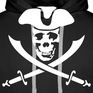 pirateskull Hoodies & Sweatshirts - Men's Premium Hoodie