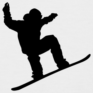 Snowboarder - T-shirt baseball manches courtes Homme