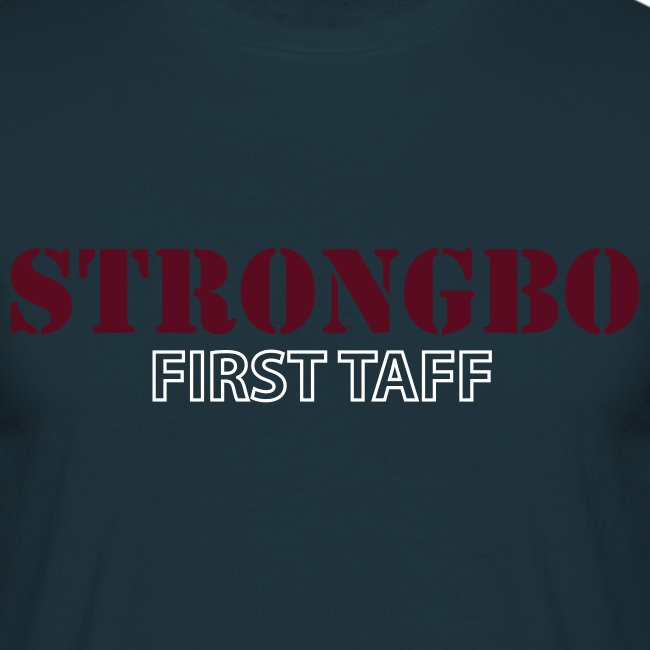 Strongbo Navy Men's Classic T-Shirt