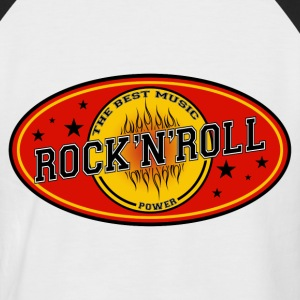 Rock 'n' Roll - T-shirt baseball manches courtes Homme
