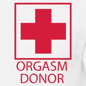 White Orgasm Donor Men's Tees - Men's T-Shirt