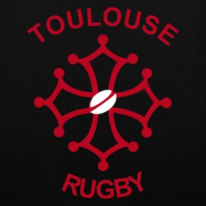 Noir Toulouse Rugby Sacs - Tote Bag