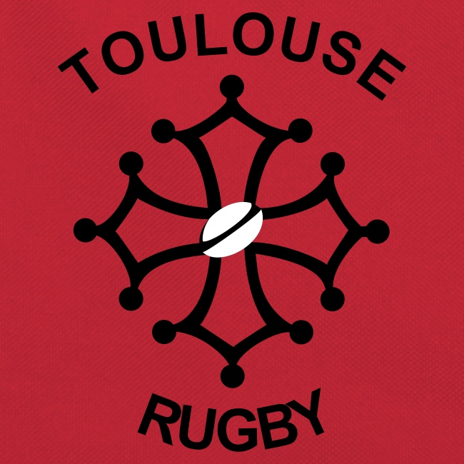 Sac rouge Toulouse Rugby