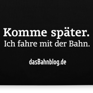 Motiv ~ dasBahnblog Bahnfahrer-Tasche