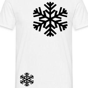 EN-Schneeflocken - Men's T-Shirt