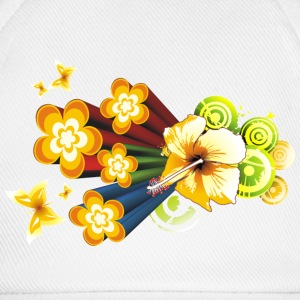 Flower Power - Baseballcap