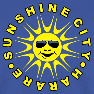 Red Sunshine City, Harare Jumpers - Men's Sweatshirt