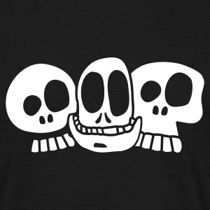 Black The Skulls T-shirt - Men's T-Shirt