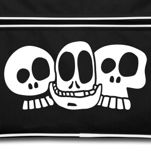 Black The Skulls Retro Bag - Borsa retrò