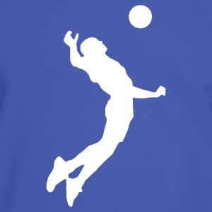 T-shirt volley Italie, Italia au dos  - T-shirt contraste Homme
