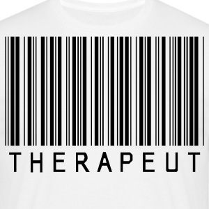 Physio: Barcode Therapeut - Männer T-Shirt
