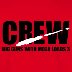 Red porno crew T-Shirt - Herre-T-shirt