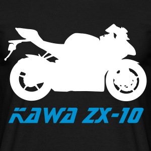 Black ZX-10 Men's Tees - Men's T-Shirt