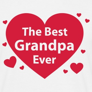 the best grandpa ever - Männer T-Shirt