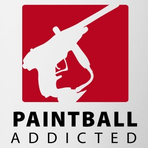 Paintball addicted - Tasse