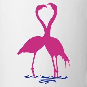 Flamingos in love Mok - Mok