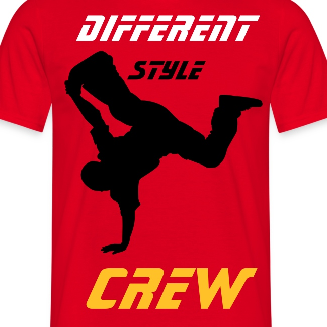 tee shirt break different style rouge