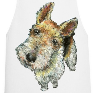 Wire haired fox terrier - Cooking Apron